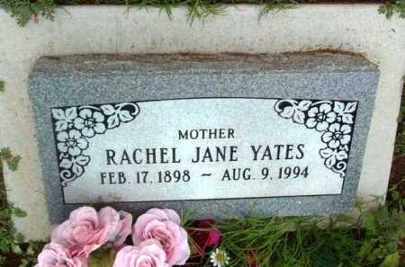YATES, RACHEL JANE - Yavapai County, Arizona | RACHEL JANE YATES - Arizona Gravestone Photos
