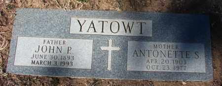 SIMPSON YATOWT, A. - Yavapai County, Arizona | A. SIMPSON YATOWT - Arizona Gravestone Photos