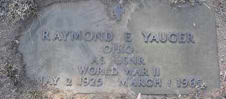 YAUGER, RAYMOND E. - Yavapai County, Arizona | RAYMOND E. YAUGER - Arizona Gravestone Photos