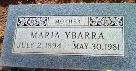 YBARRA, MARIA - Yavapai County, Arizona | MARIA YBARRA - Arizona Gravestone Photos