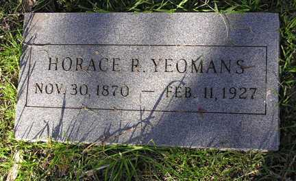 YOEMANS, HORACE P. - Yavapai County, Arizona | HORACE P. YOEMANS - Arizona Gravestone Photos