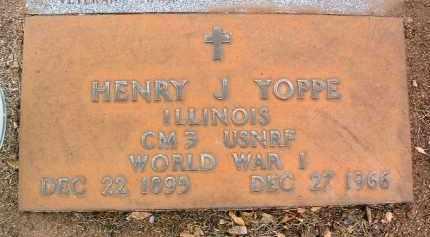 YOPPE, HENRY JOHN - Yavapai County, Arizona | HENRY JOHN YOPPE - Arizona Gravestone Photos