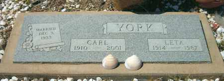 YORK, CARL - Yavapai County, Arizona   CARL YORK - Arizona Gravestone Photos