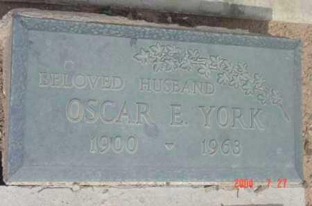 YORK, OSCAR ELLIS - Yavapai County, Arizona | OSCAR ELLIS YORK - Arizona Gravestone Photos