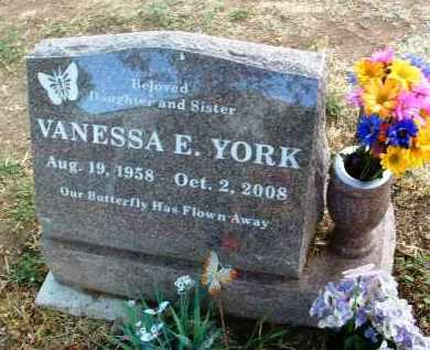 YORK, VANESSA ELIZABETH - Yavapai County, Arizona | VANESSA ELIZABETH YORK - Arizona Gravestone Photos