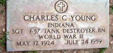 YOUNG, CHARLES C. - Yavapai County, Arizona | CHARLES C. YOUNG - Arizona Gravestone Photos