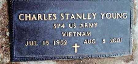 YOUNG, CHARLES STANLEY - Yavapai County, Arizona | CHARLES STANLEY YOUNG - Arizona Gravestone Photos