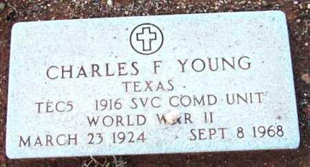 YOUNG, CHARLES F. - Yavapai County, Arizona | CHARLES F. YOUNG - Arizona Gravestone Photos