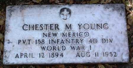 YOUNG, CHESTER M. - Yavapai County, Arizona   CHESTER M. YOUNG - Arizona Gravestone Photos