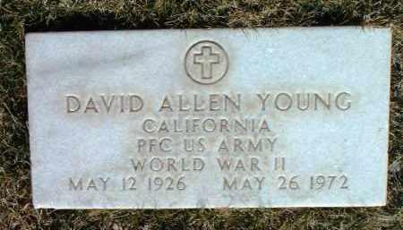 YOUNG, DAVID ALLEN - Yavapai County, Arizona   DAVID ALLEN YOUNG - Arizona Gravestone Photos