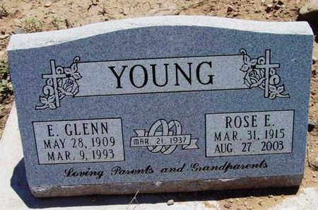 YOUNG, ESTIL GLENN - Yavapai County, Arizona | ESTIL GLENN YOUNG - Arizona Gravestone Photos