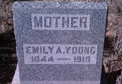 YOUNG, EMILY ANN - Yavapai County, Arizona | EMILY ANN YOUNG - Arizona Gravestone Photos