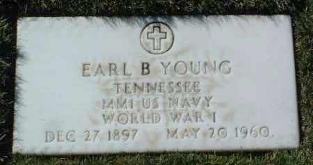 YOUNG, EARL B. - Yavapai County, Arizona | EARL B. YOUNG - Arizona Gravestone Photos