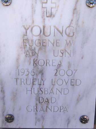 YOUNG, EUGENE W. - Yavapai County, Arizona | EUGENE W. YOUNG - Arizona Gravestone Photos