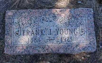 YOUNG, FRANK JAMES - Yavapai County, Arizona | FRANK JAMES YOUNG - Arizona Gravestone Photos