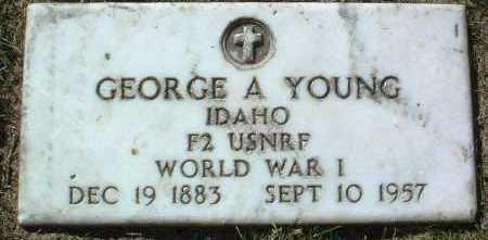 YOUNG, GEORGE A. - Yavapai County, Arizona   GEORGE A. YOUNG - Arizona Gravestone Photos