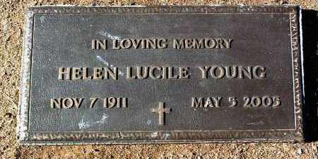 YOUNG, HELEN LUCILE - Yavapai County, Arizona | HELEN LUCILE YOUNG - Arizona Gravestone Photos