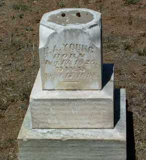 YOUNG, HIRAM ABIFF (H.A.) - Yavapai County, Arizona | HIRAM ABIFF (H.A.) YOUNG - Arizona Gravestone Photos