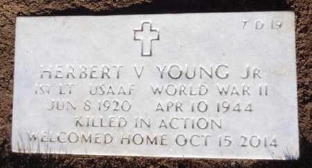 YOUNG, HERBERT VERNON, JR. - Yavapai County, Arizona | HERBERT VERNON, JR. YOUNG - Arizona Gravestone Photos