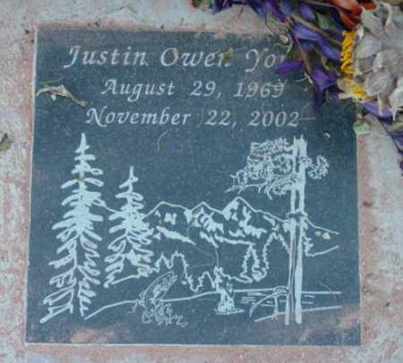 YOUNG, JUSTIN OWEN - Yavapai County, Arizona | JUSTIN OWEN YOUNG - Arizona Gravestone Photos