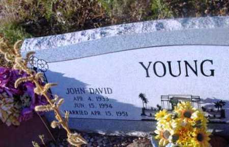 YOUNG, JOHN DAVID - Yavapai County, Arizona | JOHN DAVID YOUNG - Arizona Gravestone Photos