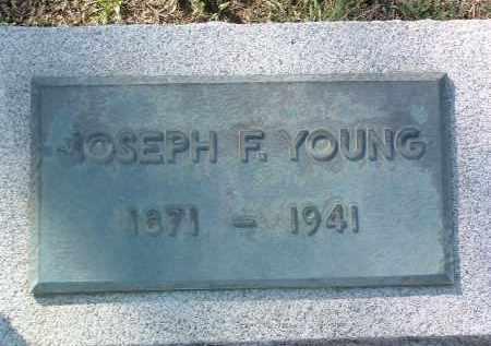 YOUNG, JOSEPH FRANKLIN - Yavapai County, Arizona | JOSEPH FRANKLIN YOUNG - Arizona Gravestone Photos