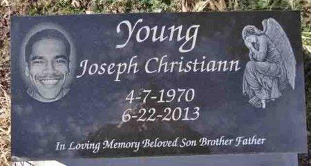 YOUNG, JOSEPH CHRISTIAN - Yavapai County, Arizona | JOSEPH CHRISTIAN YOUNG - Arizona Gravestone Photos