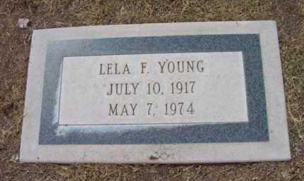 STADELMAN YOUNG, LELA - Yavapai County, Arizona | LELA STADELMAN YOUNG - Arizona Gravestone Photos