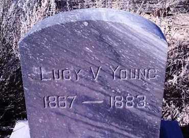 YOUNG, LUCINDA VIOLA - Yavapai County, Arizona | LUCINDA VIOLA YOUNG - Arizona Gravestone Photos