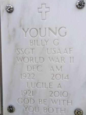 YOUNG, LUCILE A. - Yavapai County, Arizona | LUCILE A. YOUNG - Arizona Gravestone Photos