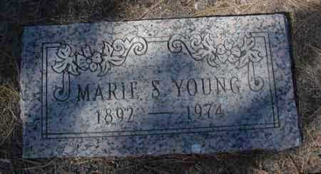 YOUNG, MARIE S. - Yavapai County, Arizona | MARIE S. YOUNG - Arizona Gravestone Photos