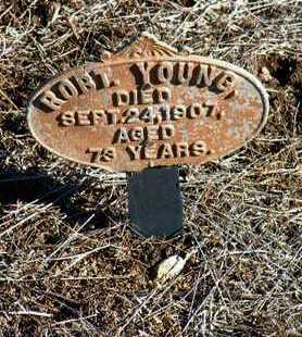 YOUNG, ROBERT - Yavapai County, Arizona | ROBERT YOUNG - Arizona Gravestone Photos