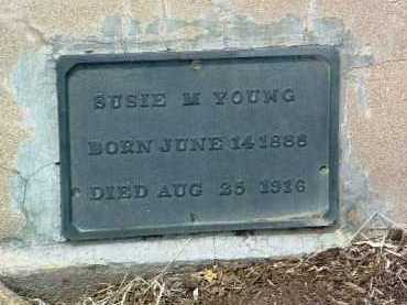 YOUNG, SUSIE LUCILLE - Yavapai County, Arizona | SUSIE LUCILLE YOUNG - Arizona Gravestone Photos