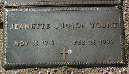YOUNT, JEANETTE - Yavapai County, Arizona   JEANETTE YOUNT - Arizona Gravestone Photos