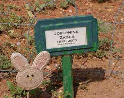 ZAGER, JOSEPHINE - Yavapai County, Arizona | JOSEPHINE ZAGER - Arizona Gravestone Photos