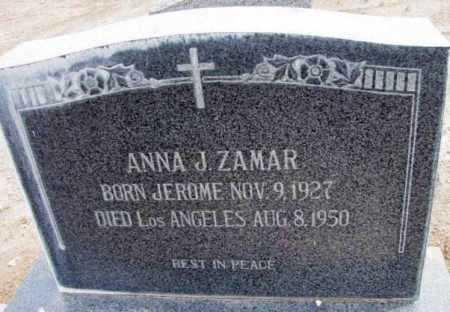 ZAMAR, ANNA JOSEPHINE - Yavapai County, Arizona | ANNA JOSEPHINE ZAMAR - Arizona Gravestone Photos