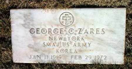ZARES, GEORGE C. - Yavapai County, Arizona | GEORGE C. ZARES - Arizona Gravestone Photos