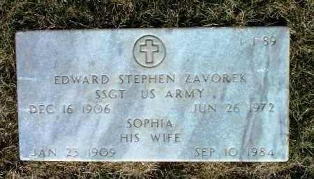 ZAVOREK, EDWARD STEPHEN - Yavapai County, Arizona | EDWARD STEPHEN ZAVOREK - Arizona Gravestone Photos