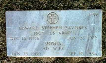 ZAVOREK, SOPHIA - Yavapai County, Arizona | SOPHIA ZAVOREK - Arizona Gravestone Photos