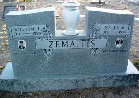 ZEMAITIS, WILLIAM J. - Yavapai County, Arizona | WILLIAM J. ZEMAITIS - Arizona Gravestone Photos