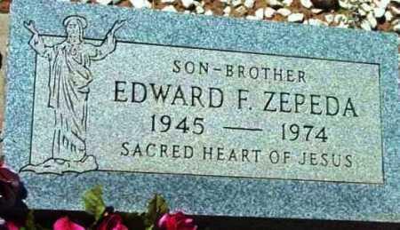 ZEPEDA, EDWARD F. - Yavapai County, Arizona | EDWARD F. ZEPEDA - Arizona Gravestone Photos