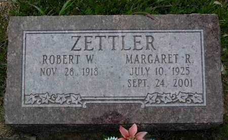 RAY ZETTLER, MARGARET E. - Yavapai County, Arizona | MARGARET E. RAY ZETTLER - Arizona Gravestone Photos