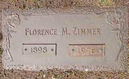 ZIMMER, FLORENCE M. - Yavapai County, Arizona   FLORENCE M. ZIMMER - Arizona Gravestone Photos