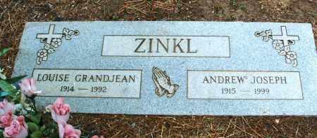 ZINKL, ANDREW JOSEPH - Yavapai County, Arizona   ANDREW JOSEPH ZINKL - Arizona Gravestone Photos
