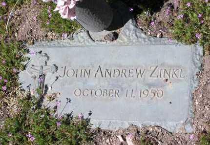 ZINKL, JOHN ANDREW - Yavapai County, Arizona | JOHN ANDREW ZINKL - Arizona Gravestone Photos