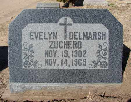 ZUCHERO, EVELYN ELNORA - Yavapai County, Arizona | EVELYN ELNORA ZUCHERO - Arizona Gravestone Photos