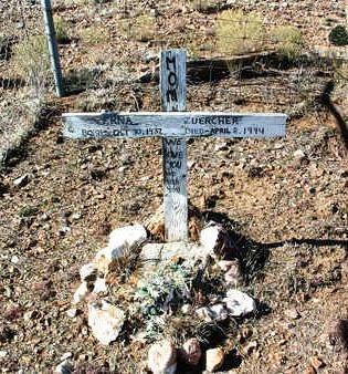 ZUERCHER, VERNA - Yavapai County, Arizona   VERNA ZUERCHER - Arizona Gravestone Photos