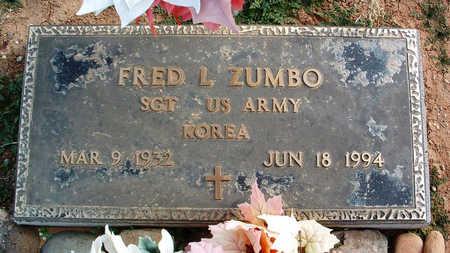 ZUMBO, FRED L. - Yavapai County, Arizona | FRED L. ZUMBO - Arizona Gravestone Photos