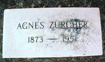 ZURCHER, AGNES - Yavapai County, Arizona   AGNES ZURCHER - Arizona Gravestone Photos