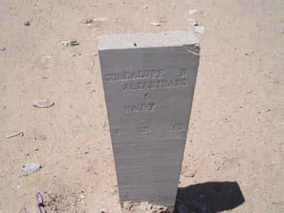ALTAMIRANO, GUADALUPE N - Yuma County, Arizona | GUADALUPE N ALTAMIRANO - Arizona Gravestone Photos